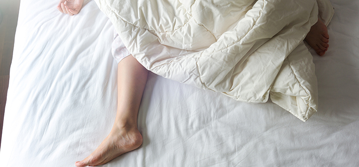 How to make sleeping in the heat more bearable