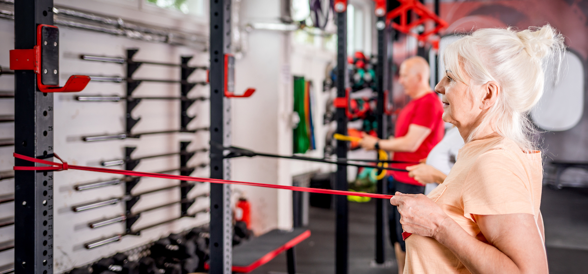 Resistance training benefits both men and women in older age