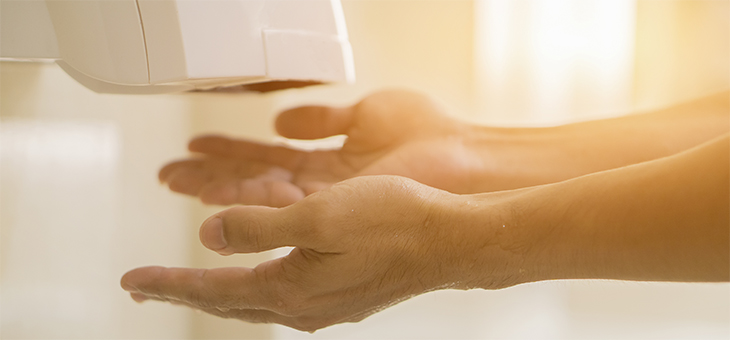 Hand dryers can circulate germs. Why are they still used?