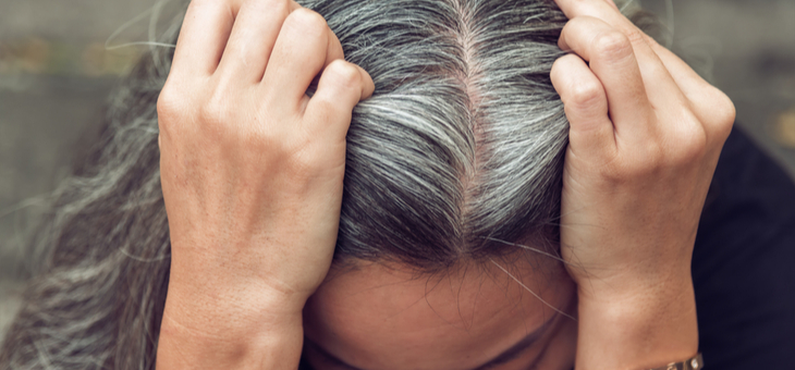 The 'risk' of letting your grey hair grow out
