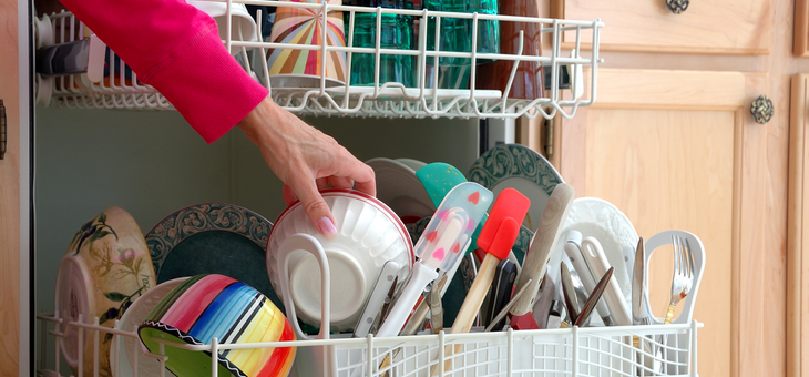 Cutlery up or down in the dishwasher