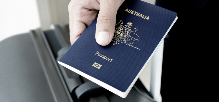 Check your passport's expiry date before booking