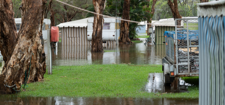 Soaring housing costs pushing retirees into disaster areas