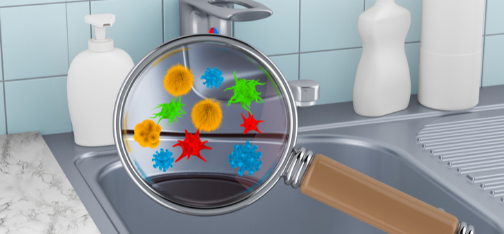 Germ hotspots in your home and how to banish them