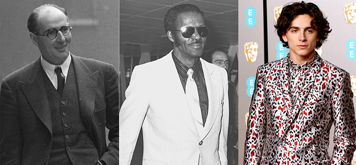 The evolution of the men's suit