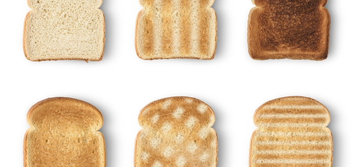 Toast is more digestible than untoasted bread