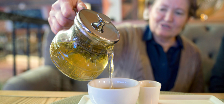 Could green tea help to combat COVID?