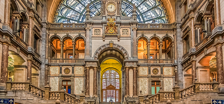Extraordinary train stations to travel through