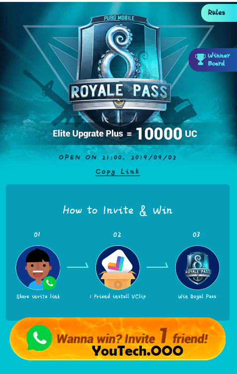 earn-pubg-royal-pass-from-vclip