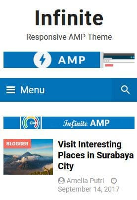 infinite-amp-blogger-template