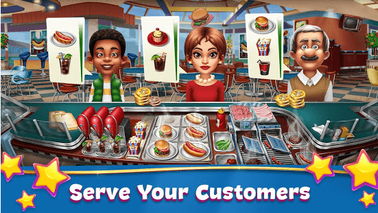 Serve Food To Customers
