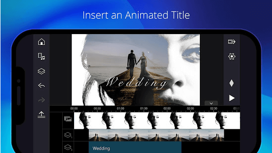 Animated Title On PowerDirector Pro APK
