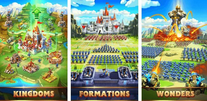 features of lords mobile