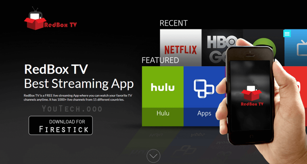 redbox tv for firestick