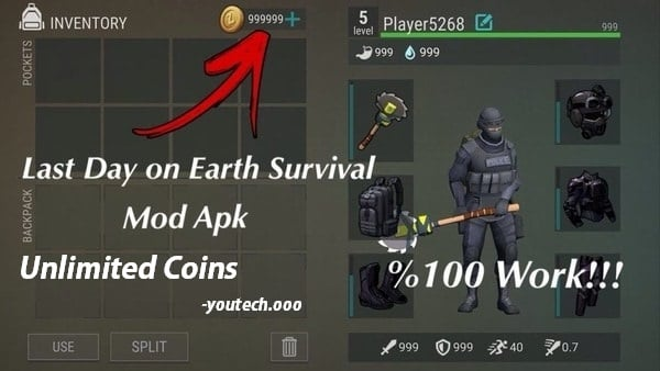 Last Day on Earth mod apk unlimited coins
