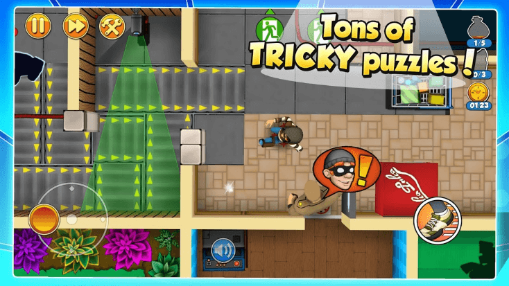 tons of tricky puzzles