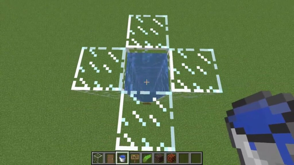 Fill the Block With Water Source