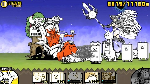 downlthe battle cats for android