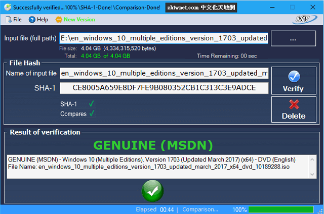 Read more about the article Windows and Office Genuine ISO Verifier 10.10.22.21 免安裝版 – Windows 和 Office 正版驗證工具